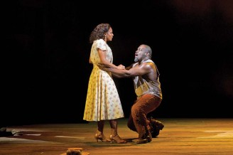 Audra McDonald and Philip Boykin in Porgy and Bess
