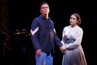 Ryan Silverman (Ulysses) and Mikaela Bennett (Penelope)