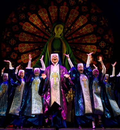 Scene from Sister Act on Broadway