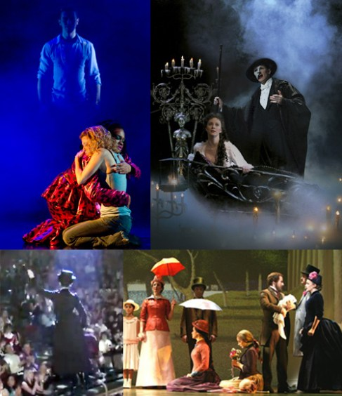 Magical Moments on Broadway: Ghost, Phantom of the Opera, Mary Poppins, Sunday in the Park With George