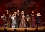 """""""The Mystery of Edwin Drood"""" The suspects stand on stage so that the audience can choose the murderer."""