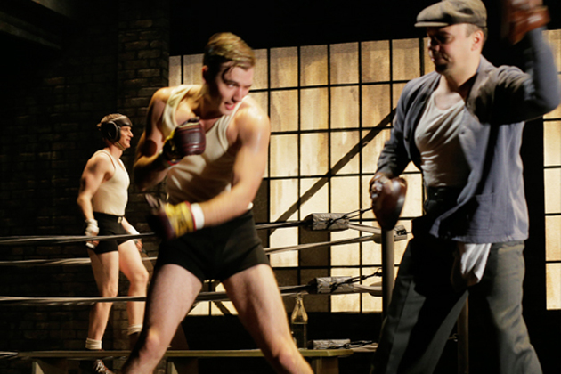 """Seth Numrich and Danny Burstein in Lincoln Center Theater production of """"Golden Boy"""""""