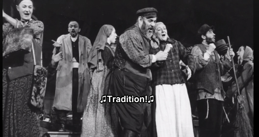 """Though the major of Broadway composers throughout the twentieth century were Jewish, it wasn't until 1964 that any of them created a musical specifically about Jews, """"Fiddler on the Roof."""" Even then, says lyricist Sheldon Harnick, """"many people said 'oh you're so brave.'"""""""