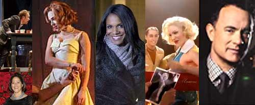 New York Theater Week January 14 to 20: Norbert Leo Butz, Anna Deavere Smith, Scarlett Johansson, Audra McDonald, Smash, Tom Hanks