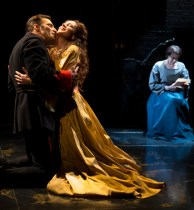 "Ryan Silverman, Melissa Errico and Judy Kuhn in Sondheim's ""Passion"" at CSC"