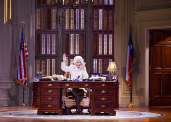 """Holland Taylor as Governor Ann Richards in """"Ann"""""""