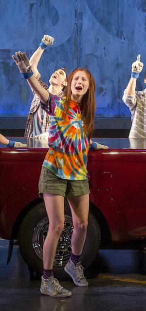 """Cast of """"Hands on a Hardbody"""" on Broadway sing """"If I Had This Truck"""""""