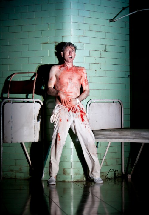 Alan Cumming as Macbeth in 2013, a one-man version that takes place in an asylum