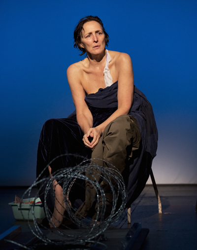 Fiona Shaw in The Testament of Mary  By Colm Tóibín