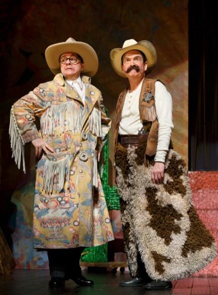 Nathan Lane and Lewis Stadlen vaudevillians in The Nance