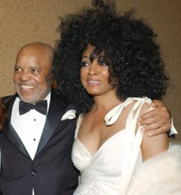 Teena Marie, Berry Gordy and Diana Ross