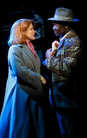 "Kelli O'Hara and Isaiah Johnson in ""Far From Heaven"""
