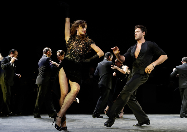"""Forever Tango"" On Broadway Curtain Call & Departures"