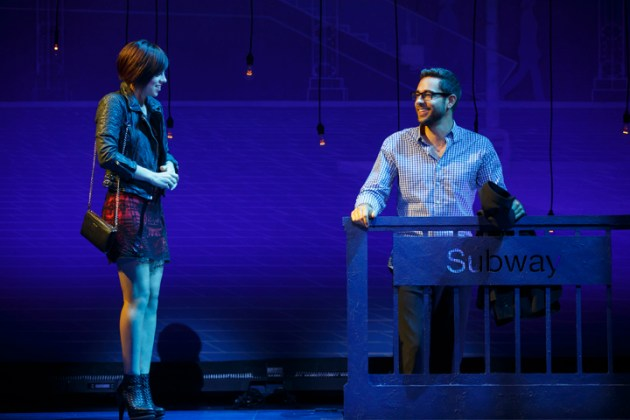 First  Date Krysta Rodriguez and Zachary Levi