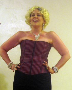 "Darlene Violette, star and director of new adaptation of Mae West's ""Diamond Lil"""