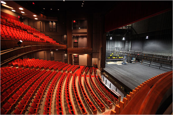stephen sondheim theater interior