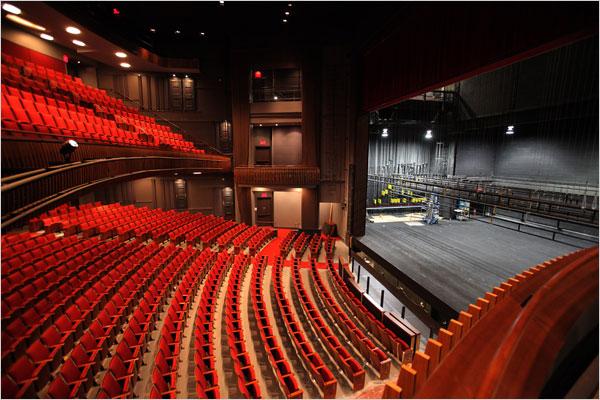 stephen sondheim theater interior