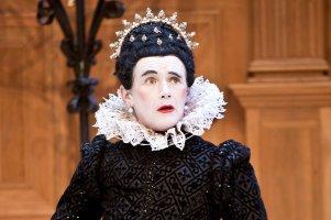 Mark Rylance as Olivia in Twelfth Night on Broadway