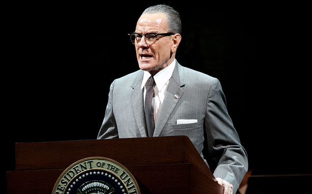 Bryan Cranston as LBJ in All The Way heading for Broadway