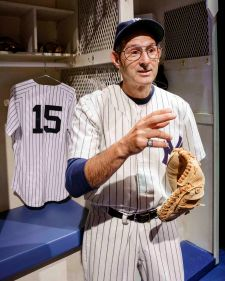 RICHARD TOPOL as Yogi Berra LOW