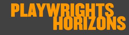Playwrights Horizons logo