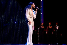 "Motown: Valisia LeKae portrayed Diana Ross in Motown, in dozens of wigs and dresses. In the scene that recreates Diana's first solo concert, apart from the Supremes, LeKae invited members of the audience to come sing ""Reach Out and Touch"" with her, and a magical fusion took place: Diana Ross was there but so was LeKae, graceful and gracious, funny and charismatic."