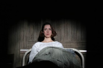 Rebecca Hall as Helen, hospitalized, in Machinal