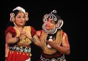 Nizhalayanam, a play by Kavalam Narayana Panikkar, Mee's mentor and inspiration