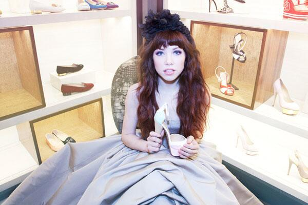 Carly Rae Jepsen, soon to be Cinderella
