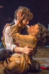 Andy Mientus and Marisu and Nikki M James as Eponine