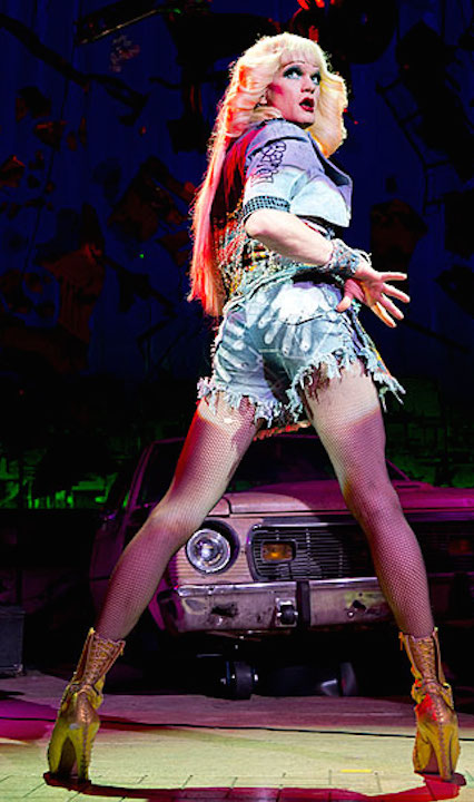 Neil Patrick Harris AS Hedwig, Complete With Blonde Wig, Custom Heels