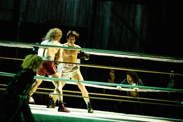 Rocky 1 Adam Perry and Andy Karl