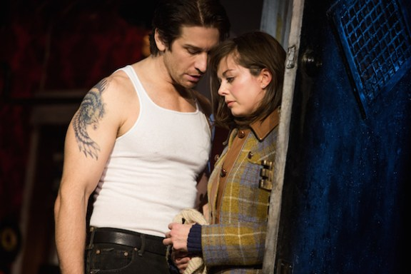 Rocky 4 Andy Karl and Margo Seibert