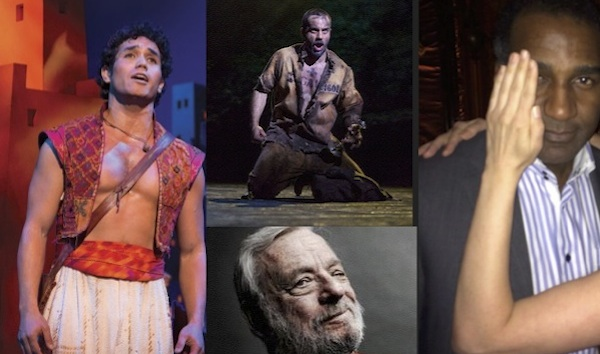 Adam Jacobs in Aladdin, Ramin Karimloo in Les Miserables, Stephen Sondheim at 84, Norm Lewis to be the Phantom