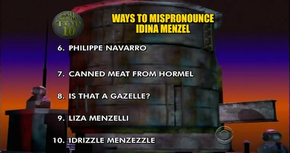 Top 10 Idina Menzel