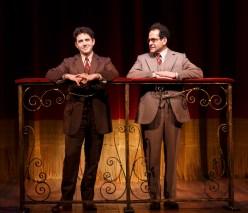 Santino Fontana and Tony Shalhoub both portray Moss Hart