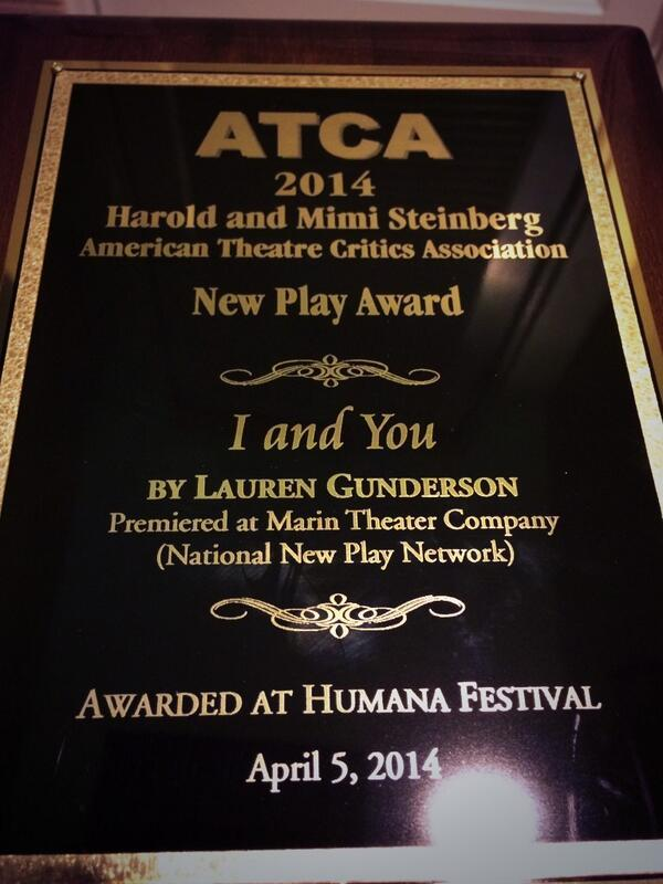 ATCA New Play Award