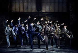 "Even a show you don't care for can have a magical moment -- e.g. show-stopping tap dance number in Bullets Over Broadway by Nick Cordero and his fellow goons to the tune of ""Tain't Nobody's Biz-ness If I Do."""