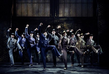 """Even a show you don't care for can have a magical moment -- e.g. show-stopping tap dance number in Bullets Over Broadway by Nick Cordero and his fellow goons to the tune of """"Tain't Nobody's Biz-ness If I Do."""""""
