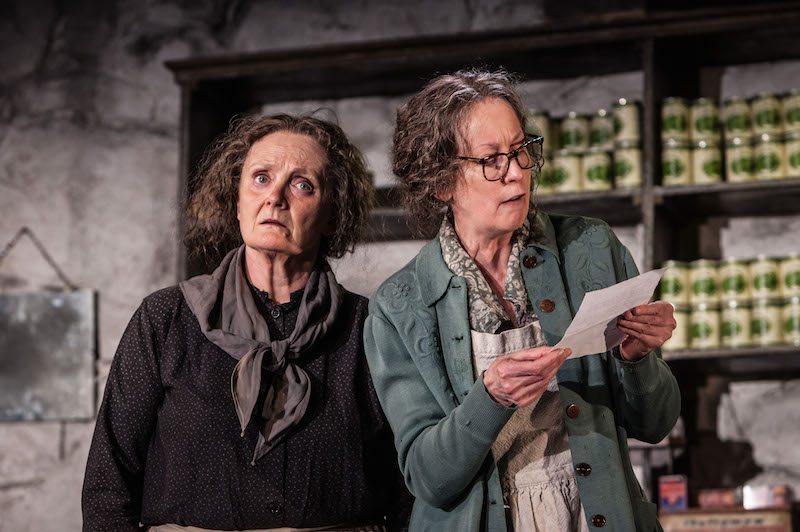Gillian Hanna and Ingrid Craigie in The Cripple of Inishmaan