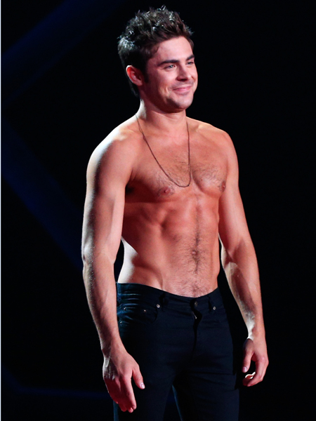 Zac Efron at MTV Awards