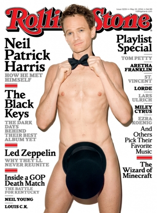Neil Patrick Harris Naked On Cover of Rolling Stone