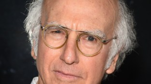 Larry David, star and writer of Fish in the Dark