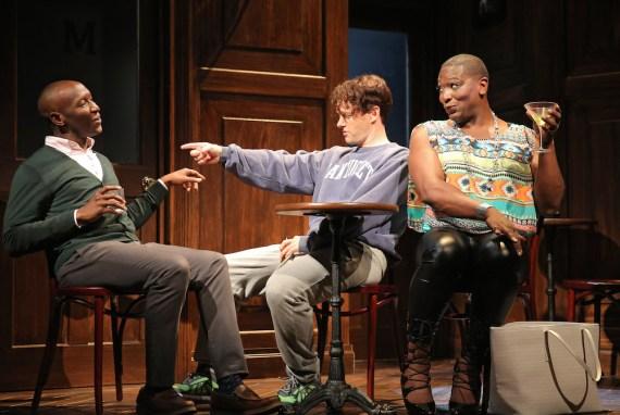 Scene 9 The Last Gay Play: Phillip James Brannon, Jesse Pennington, Lance Coadie Williams