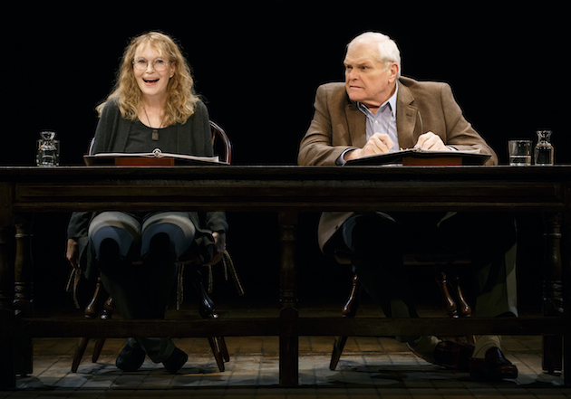 Brian Dennehy and Mia Farrow photo2 by Carol Rosegg