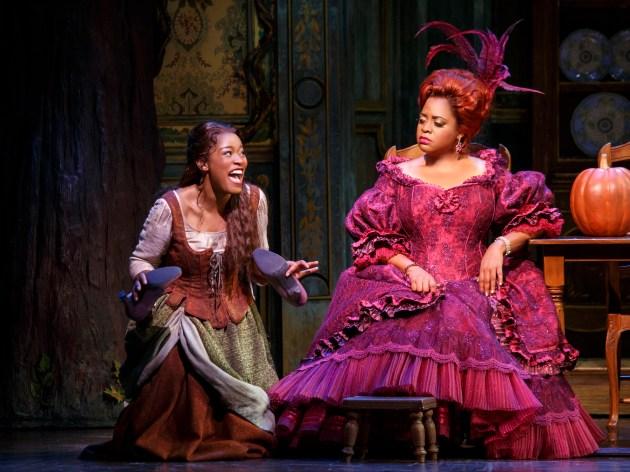 Keke Palmer as Cinderella and Sherri Shepherd as Madame
