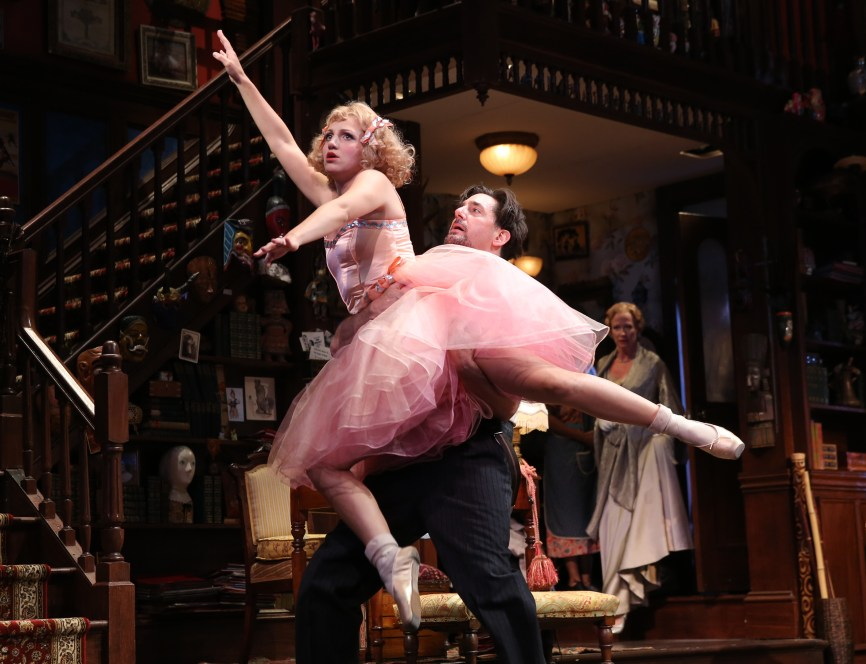 "By doing nothing more than doing fake ballet moves, Annaleigh Ashford, turns her lines into memorable hilarity in ""You Can't Take It With You."""