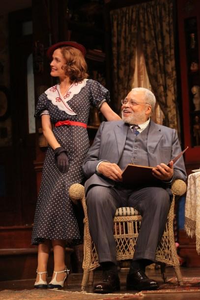 Rose Byrne and James Earl Jones