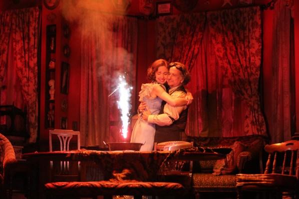 Rose Byrne and Mark Linn-Baker