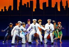 The 2014 revival of On The town, featuring clyde Avles, Tony Yazbeck and Jay Armstrong Johnson